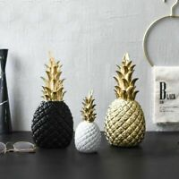 Creative Golden Pineapple Modern Home Living Room Decor Display Props Accessory