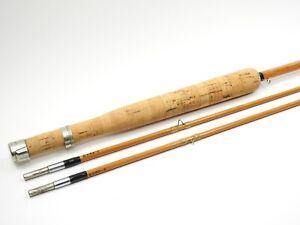 "Dan Brenan Bamboo Fly Rod. Syracuse, NY. 7' 6"". See Description."