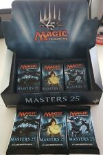 Magic The Gathering MODERN MASTERS 25 - 3 sealed Booster Packs Jace filter