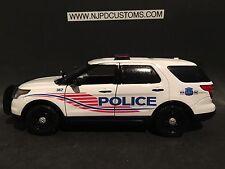 Washington DC Metro Police 1:24 Scale Ford Explorer Police Car