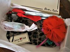 LANVIN for H&M A Elbaz Dress Crossbody Bag Purse Clutch- Jeweled Flower Leopard