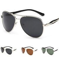 Men's Retro Vintage Outdoor Aviator Metal Sunglasses Sport Eye Glasses Eyewear