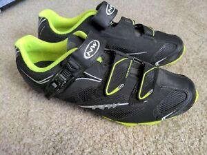 Northwave Scorpius SRS Men's MTB Shoes Black Yellow Size EU 45 US 12 cycling