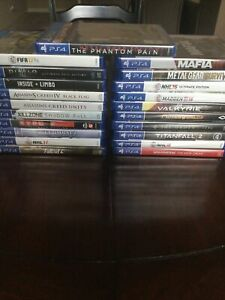 PS4 Game Lot 21 Games All BRAND NEW FACTORY SEALED. No Dupes.