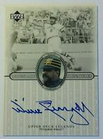 2000 UD Legendary Signatures WILLIE STARGELL Autograph On Card HOF Auto Pirates