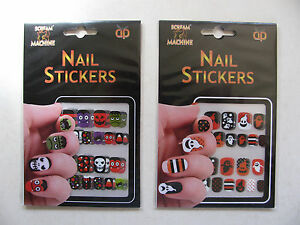 Nail Stickers Temporary Sheets Various Designs Tattoos Body Art Party Themes