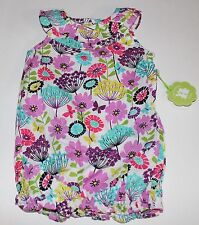 Vera Bradley Baby Infant Romper 1-Piece Outfit Flutterby Butterfly Gift 6-9 mos