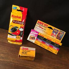 Vintage Kodak Lot Camera Film Disposable Funsaver flash PRIORITY MAIL