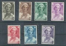 Mint Hinged 3 Number European Stamps