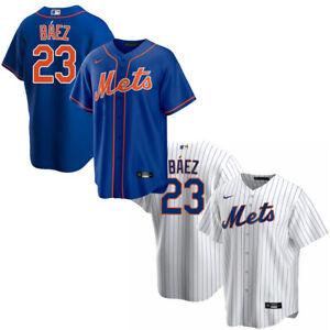 #23 New York Mets Javier Baez Men's Jersey USA SIZE S-3XL