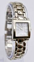 Ladies CARAVELLE by Bulova Silver Tone Bracelet Dress Watch Analog Quartz 43L107