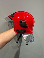 More details for  fire helmet . fire brigade helmet. msa gallet f1sf25
