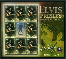 Bequia St. Vincent KB MiNr. 373-74 postfrisch MNH Elvis Presley (GG95