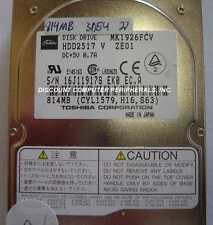 Lot of 25 MK1926FCV Toshiba HDD2517 815MB 2.5in IDE Drive Tested Free USA Ship