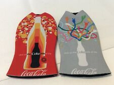 2 Coca Cola Bottle Covers Redxcalibur Red Grey Collectors