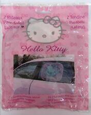 2 PzTendine Parasole Auto Hello Kitty Tendina Oscurante Finestrini Bambini New