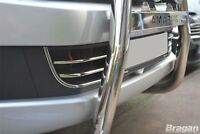 To Fit 2010 - 2016 VW Volkswagen Amarok Front Chrome Bumper Trim Set