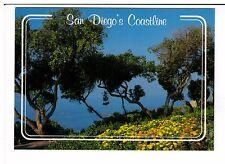 Postcard: San Diego's Coastline, California, USA