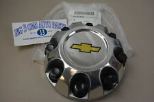 2007-2010 Chevrolet Silverado 2500 Chrome Center Hub Cap with Gold Bowtie new OE
