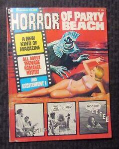 1964 Famous Films HORROR OF BEACH PARTY Warren Magazine #1 FN 6.0 DCHAC