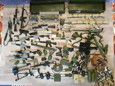 98 NECA Marvel Legends GI Joe Action Figure Accessories Weapons Lot Military