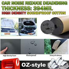"""Auto Sound Deadener Car Mat Noise Insulation Blocker Soundproof Mat 99"""" x 39"""""""