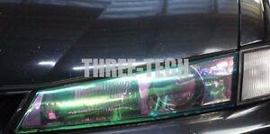 """12""""x24"""" Chameleon Neo Wrap Tint Vinyl Film for Custom Headlight Color Rear Film"""