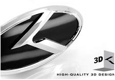 K-Emblem hinten (Heckklappe) - Kia Stinger Tuning-Zubehör in schwarz