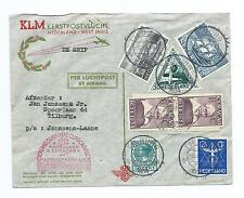 NETERLANDS INDIES/CURACAO: Airmailcover 1934.