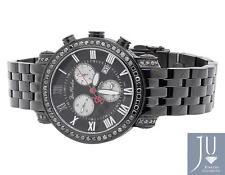 Mens New Joe Rodeo/Jojo Classic 173 Black PVD JCL 109 Black Diamond Watch 5.25Ct