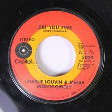 Country 45 Charlie Louvin & Melba Montgomery - Did You Ever / Don'T Believe Me O