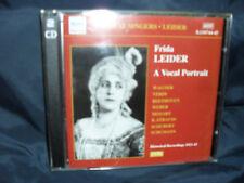 Frida Leider - A Vocal Portrait -2CDs