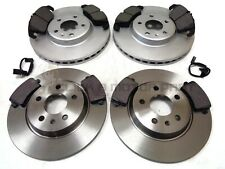 AUDI A5 2.7 3.0 TDi 2007-2012 FRONT 320MM VENTED & REAR SOLID BRAKE DISCS & PADS