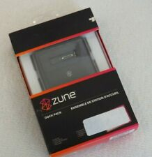 Zune Dock Pack Brand New Oem Sealed (Fits all Ms Zunes - Dock, Adapter & Manual)