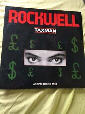 "Rockwell Taxman 12"" Inch Single Motown Vinyl 45rpm"