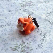dust plug Novelty Ginger Cat For Phone Cute