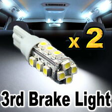 2x White 16-SMD LED Bulbs For Truck or SUV High Mount 3rd Brake Stop Lights