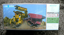 GALACTIC PATROL LENSMAN GRAPPLER AND SHUTTLE TRUCK 1/72 MODEL KIT TOMY  JAPAN
