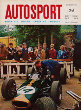 Autosport 29 Oct 1965 Ginther's and Honda's First Grand Prix, New McLaren F1 Car