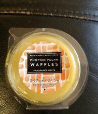 1 Bath & Body Works White Barn Pumpkin Pecan Waffles Wax Melt Melts 0.97 Oz New