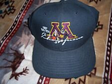 MINNESOTA GOPHERS BASKETBALLL CHAMPIONS 1997 HAT