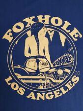 Foxhole Los Angeles Large Blue Shirt
