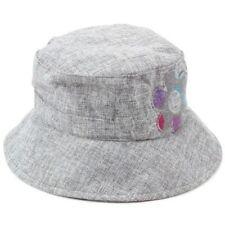 Chapeau cloche gris pour femme