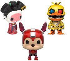 POP! películas Ghost in the Shell/Bobble Head/juegos Megaman-elección 0F 3 Juguetes