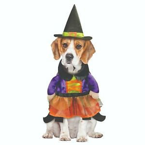 NEW Way to Celebrate Halloween Witch Sorceress Costume For Dogs SIZE Medium