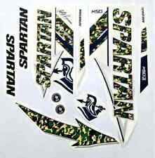 Spartan MSD Army Brand new cricket bat stickers Ebay Premium Quality