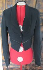 """WITCHERY"" LADIES CROP JACKET NEAR NEW SIZE 10"