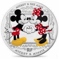 10 euros argent BE FRANCE 2018 - Mickey et ses Amis - BE - Monnaie de Paris