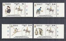 1984 Hong Kong - Horse Jockey Club Centenary SC# 435-438 - MNH*
