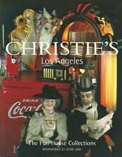 CHRISTIE'S Fun House Colls Radio Jukebox Coca-Cola Automata Auction Catalog 2001